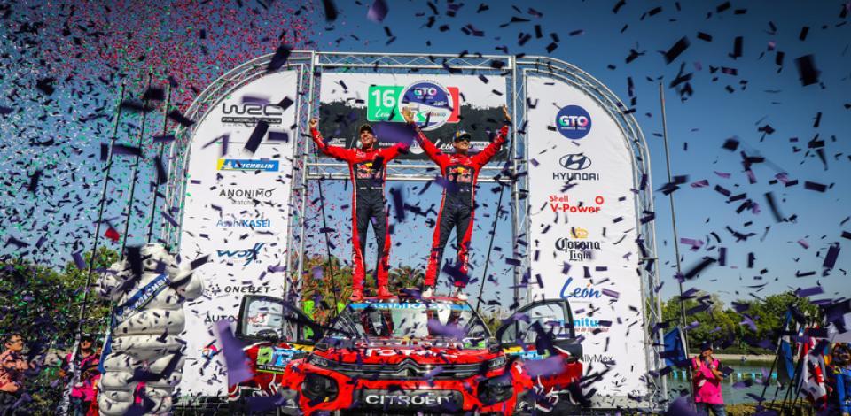 WRC Mexico 2019